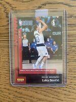 Luka Doncic Panini Playoff Debut Record /645 Dallas Mavericks 1st Team NBA 2020