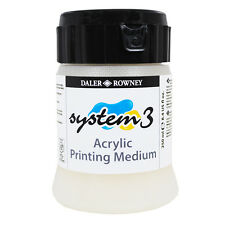 Daler Rowney : Removable Screen Block : Screen Printing Medium : 1 Litre