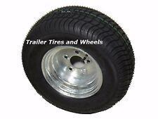 "20.5x8.0-10 LRE 10 PR Bias Trailer Tire on 10"" 5 Lug Galvanized Wheel 205/65-10"
