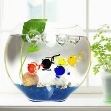 Goldfish Floating Blown Glass Bubble Micro-landscape Aquarium Ornament Decoratio