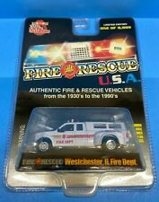 Racing Champions Fire Rescue Westchester IL Fire Dept 1999 Ford F-350 Pickup