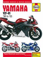 Haynes Manual 3754 - Yamaha YZF-R1 (98 - 03) workshop, service, repair