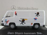 """Herpa/MB Mercedes-Benz 100 D Kasten (1992)""""Den Stern kennen Sie.""""1:87/H0 NEU/OVP"""