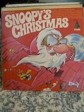 Vintage Snoopy's Christmas Record Diplomat Christmas Records
