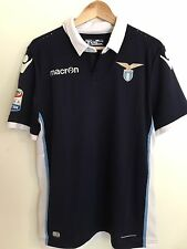 Authentic Macron Lazio Roma Player Issue Soccer Jersey Parolo
