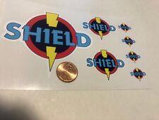 Custom Superhero Decals SHIELD Die Cut. Free Shipping!