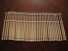 Bobbin Lace Bobbins - 24 Midlands style bobbins made of  wood 4 1/4 inches