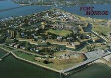 Fort Monroe 3rd Oldest Military Installation in USA, Hampton Virginia - Postcard