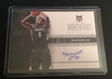 2012/13 Momentum RC AUTO MALCOLM LEE #55 Timberwolves Momentous Rookies QTY