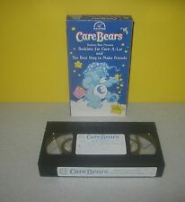 Play Along Toys Care Bears Bedtime Bear For Care-a-Lot 2 Episode VHS Tape