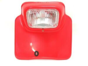 New Honda 185 200 250 500 XR's Headlight Flash Red