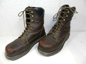 Irish Setter Men's Steel Toe Work Boots sz 7D Red Wing Shoes womens aprx 9