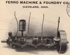 Usa Ferro Machine & Foundry Co 1907 Finished Engine Cleveland Ohio Cover 4i