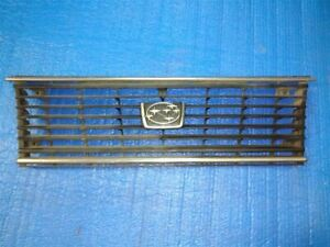 GRILLE GL 2WD FITS 82-83 SUBARU PASS. 9679