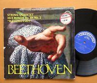 SUA 10616 Beethoven Rasumovsky Quartet Janacek Quartet Supraphon Mono NM/VG
