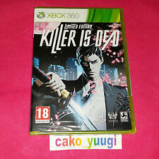 KILLER IS DEAD XBOX 360 NEUF SOUS BLISTER 100% FRANCAIS