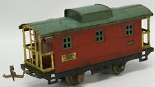 LIONEL LINES TIN PLATE PRE WAR No.807 RED CABOOSE-VG CONDITION