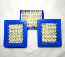 3 x Briggs and Stratton Air Filter Lawn Mower