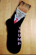 President Donald  Trump Unisex Socks With Realistic Hair Same Day USA Shipping