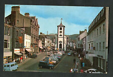 Posted 1970: View of Cars Parked & People, Main Street, Keswick