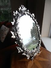 Ivy Leaves Motif Victorian Mirror