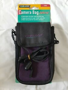 Vintage Case Logic CD2 Deluxe Camera Case Travel Bag