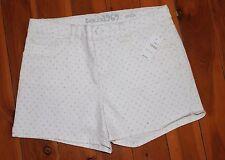 NWT GAP White Polka Dot Shorts Size 12.5
