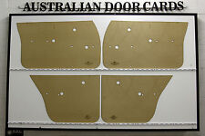 Holden HQ HJ HX HZ Door Cards, Blank Trim Panels. Sedan, Wagon. Quality Masonite