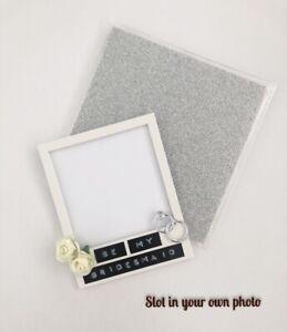 Bridesmaid proposal Polaroid