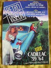 @ Mensuel REVUE RETRO VISEUR - N° 48 - CADILLAC '59 '64 - Août 1992