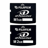 FUJI Type M 1GB/2GB XD-Picture Memory Card for Fujifilm Digital Cameras