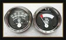 ih farmall tractor gauge--oil & amp gauge set for 1948-1954 cub