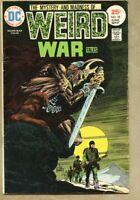 Weird War Tales #38-1975 vg- 3.5 Joe Kubert Jack Sparling