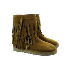 Koolaburra by Ugg 1015897 Cable Genuine Dyed Sheepskin Lined Boots Chestnut 6