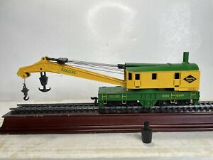 Bachmann Ho Scale Model Trains Reading Lines RR Operating Crane Working Ex Cond