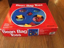 1997 Pressman Bean Bag Toss Game 6 bean bags classroom game