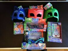 NEW PJ Mask Catboy, Gekko and Owlette  Bundle with 1 booster cars Brand new