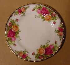 "Royal Albert Old Country Roses 6 1/4"" Bread & Butter Plate Made in England"