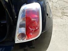 FIAT 500 RIGHT TAILLIGHT HATCH, LIGHT GREY LENS EDGING, 03/08-09/15