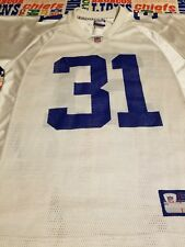 Dallas Cowboys NFL Reebok Equipment Mens Medium  31 Roy Williams Football  Jersey 7727519c2