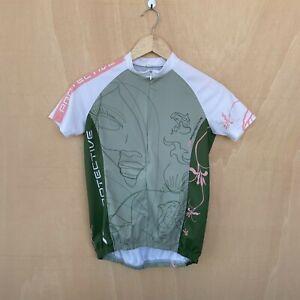 Protective Kids Girls Cycling Jersey - 10-12Y - Short Sleeve - Bike Top Shirt