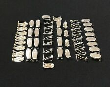 Fingernail Earring Post, 5 or 25 pairs total