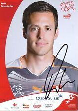Kevin Fickentscher  Schweiz Fußball Autogrammkarte original signiert 391699