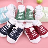 Boys Girls Kids Fashion Toddler Baby Socks Antislip Slipper Shoes Socks   bestA