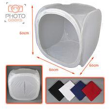 "60cm / 23"" Photography Light Tent + 4 Backdrops - Box Cube Photo Studio Softbox"