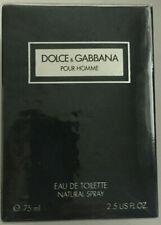 Dolce & Gabbana pour Homme 75ml EDT spray vintage Euroitalia Read description