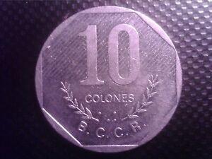 COSTA RICA   10 COLONES   1983   JUL30