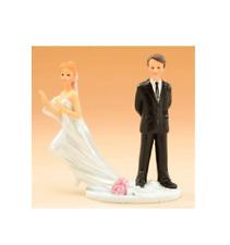 """TOPPER """" SPOSA FUGGITIVA """" 28424(f) CAKE DECORAZIONE TORTA WEDDING MATRIMONIO"""
