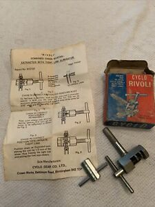 Cyclo Gear Co Rivoli Chain Rivet Extractor And Spoke Wrench With Box