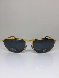 New Vintage GIANFRANCO FERRE GFF 281 Sunglasses GFF 281/S C. PR5 Gold Italy 61mm